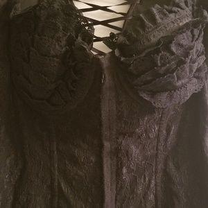 Victoria Secret Sweater Corsette